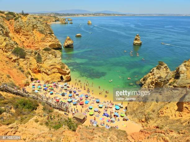 Beach in Lagos, Portugal: Praia Dona Ana