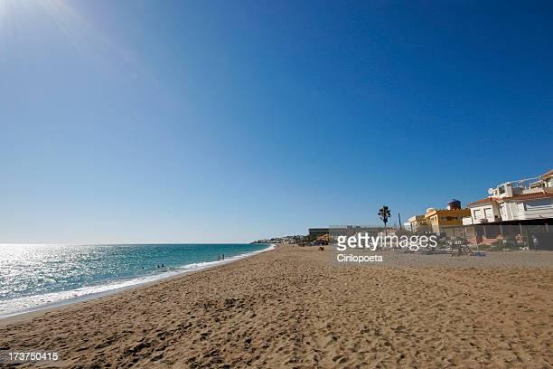 Beach in Mijas, Malaga