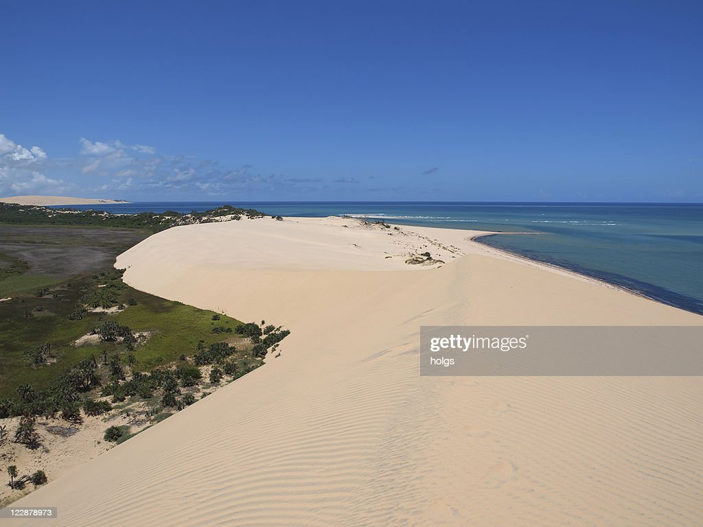 Beach in Mozambique, Africa : Stock Photo
