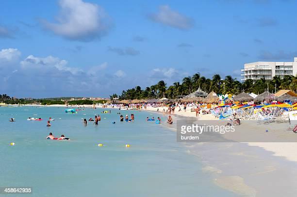Beach in Oranjestad, Aruba