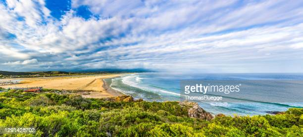 beach in plettenberg bay, south africa - south africa stock pictures, royalty-free photos & images