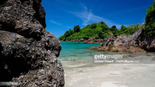 beach in prachuap khirikan - プラチュアップキリカン県 ストックフォトと画像