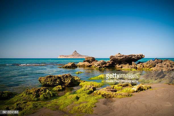 Beach in Rafraf, Tunisia