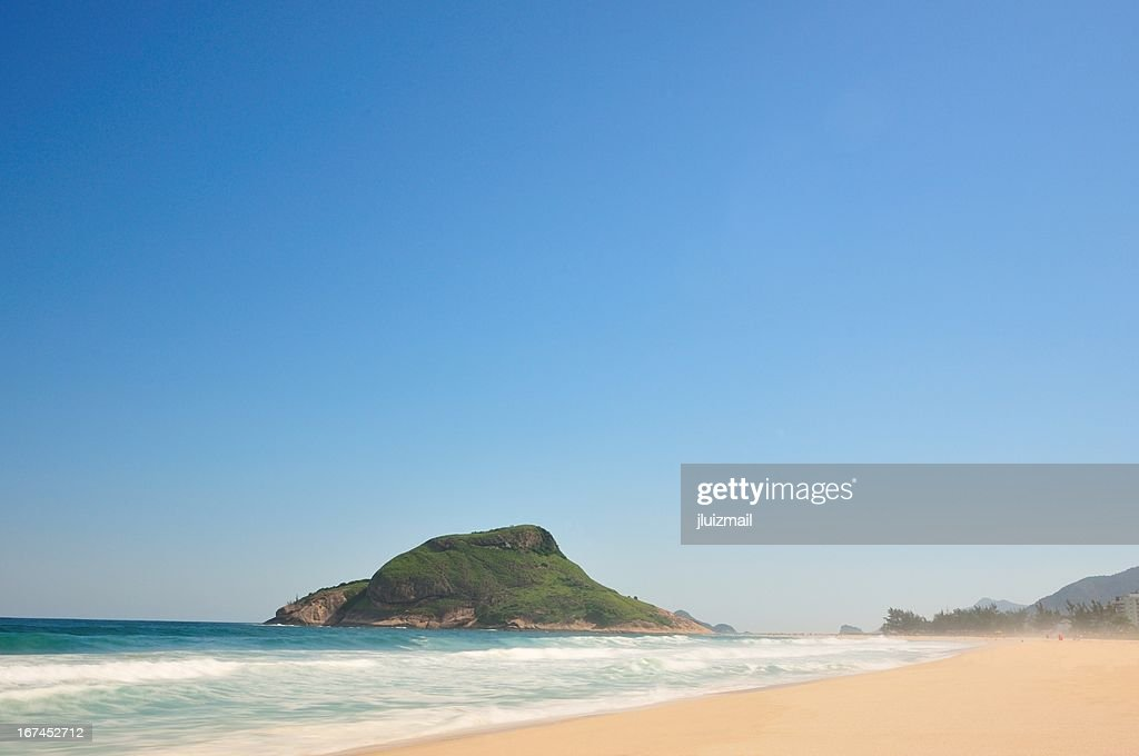 Beach in Rio de Janeiro : Stock Photo