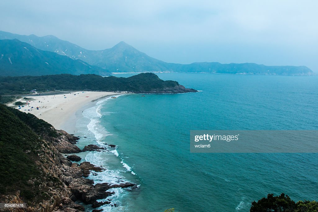 Beach in Sai Kung, Hong Kong : Stock Photo