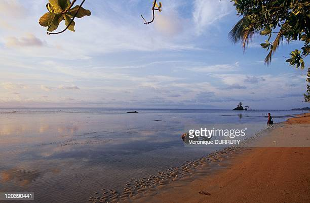 Beach in Sainte Marie island Madagascar