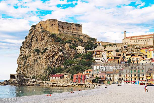 beach in scilla - reggio calabria stock pictures, royalty-free photos & images