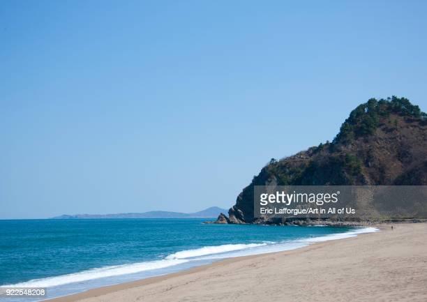 Beach in the countryside North Hamgyong Province Chilbo Sea North Korea on May 8 2010 in Chilbo Sea North Korea