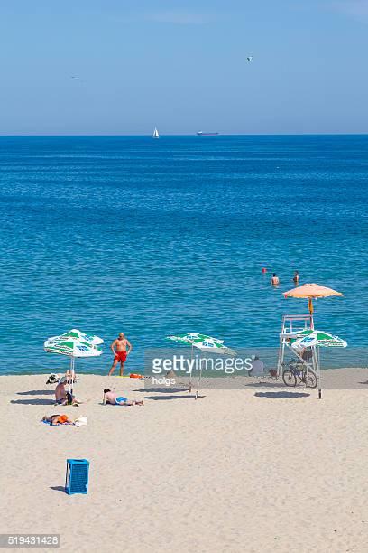 Beach in Varna, Bulgaria