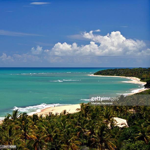 beach itaquena on way to rio verde - trancoso imagens e fotografias de stock