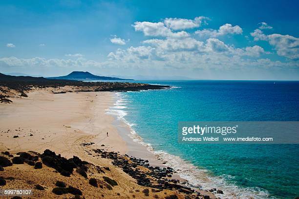 Beach Las Conchas on La Graciosa island