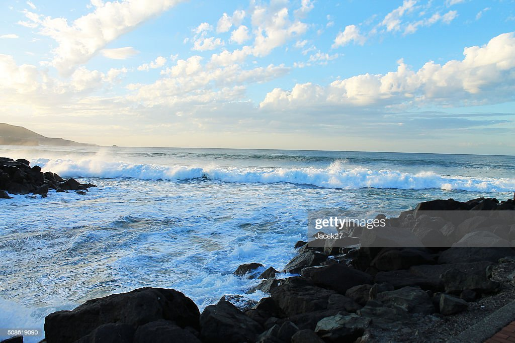 Beach  Las Paslmas - Spain. : Stock Photo