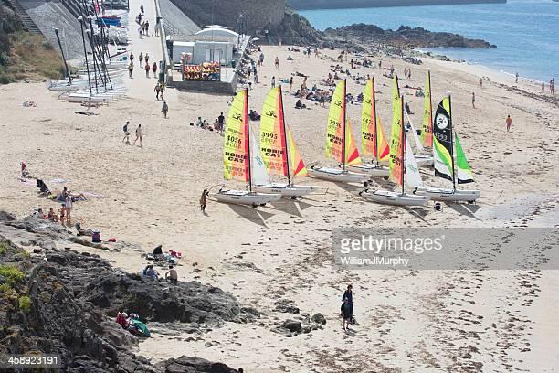 Beach life at Saint Malo