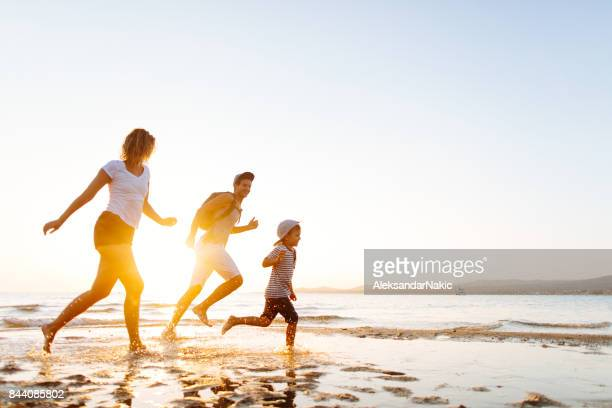 beach life - twilight stock pictures, royalty-free photos & images