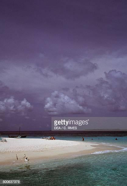Beach Male Atoll Maldives