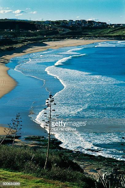 A beach near Kiama New South Wales Australia