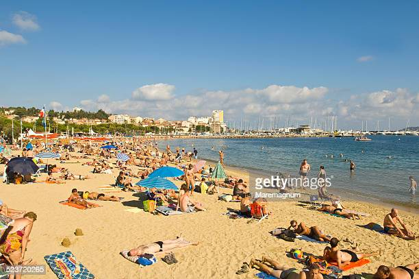 beach near the town - var stock pictures, royalty-free photos & images