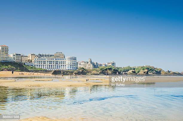 Beach of Biarritz