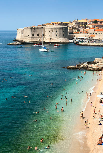 Beach of Dubrovnik