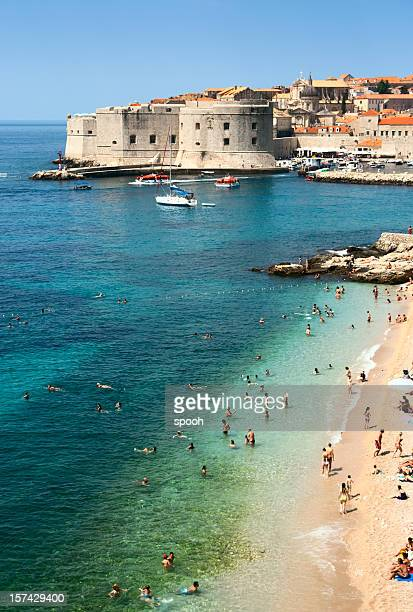 Strand von Dubrovnik