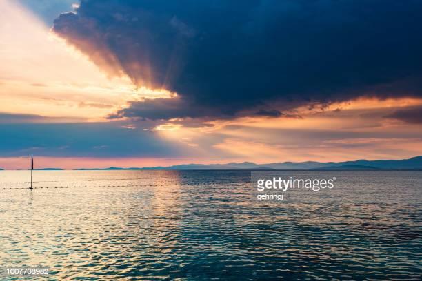 ビーチの島ブラチ島, クロアチア - アドリア海 ストックフォトと画像