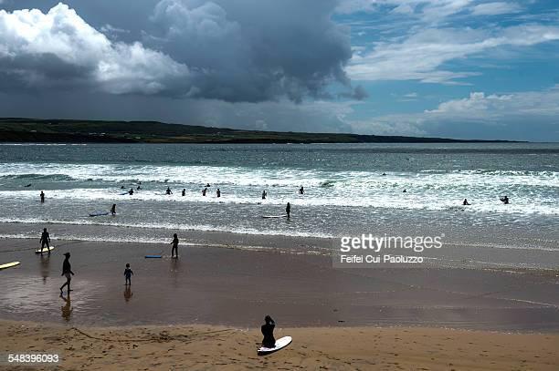 Beach of Lahinch Clare Ireland