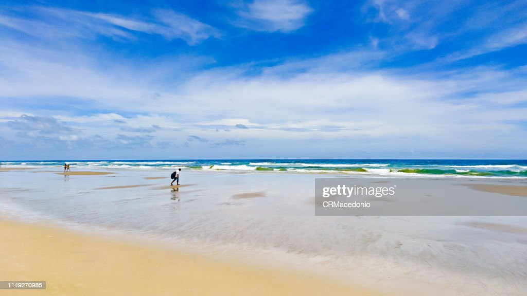 A beach of my own. : Stock Photo