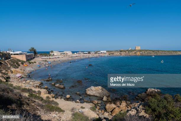 Beach of Tabarca Tabarca is a small islet located in the Mediterranean Sea close to the town of Santa Pola Alicante Tabarca is the smallest...