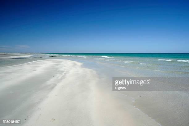 Beach on Djerba island, Tunisia, Maghreb, North Africa, Africa