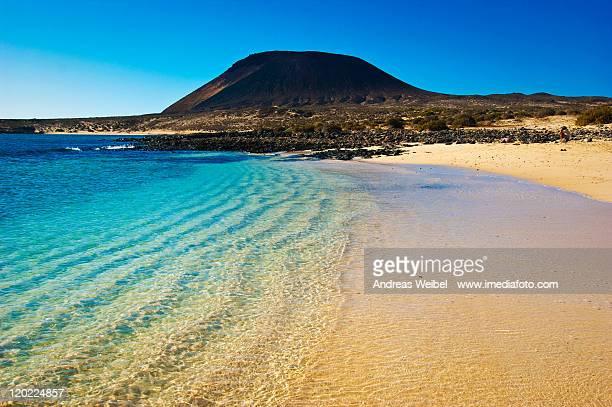 Beach on La Graciosa island