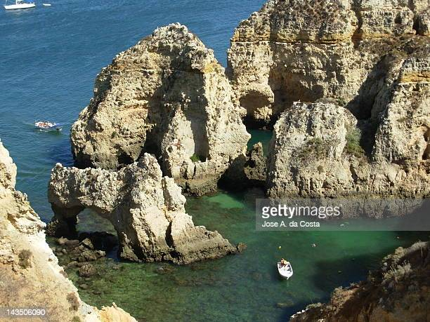 Beach on Ponta da Piedade