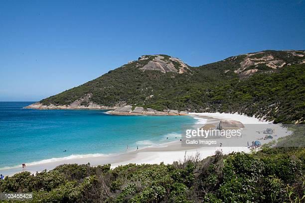 Beach on southern coast of Western Australia, Australia