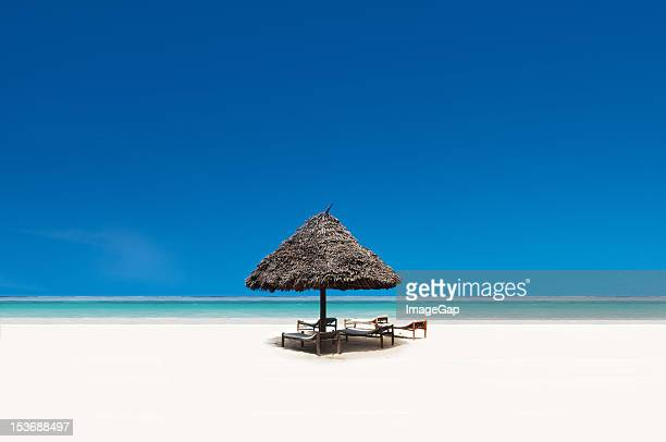 beach paradise - zanzibar stock photos and pictures