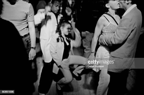 A beach party scene during Cannes Film Festival on May 20 1998 in Cannes France