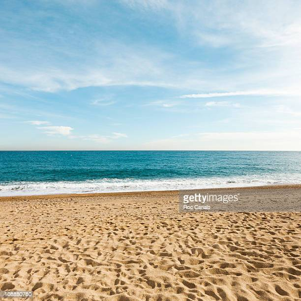 beach - sand stock pictures, royalty-free photos & images