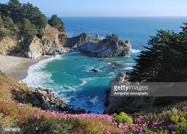 beach - mcway falls stock pictures, royalty-free photos & images