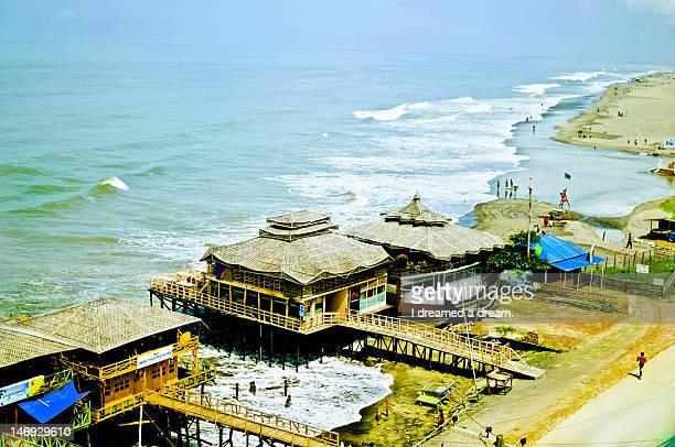 beach - bangladesch stock-fotos und bilder