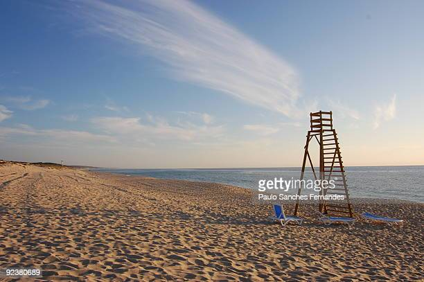beach - comporta portugal stock photos and pictures