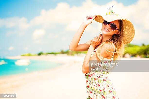 beach portrait - hot model indonesia stock pictures, royalty-free photos & images