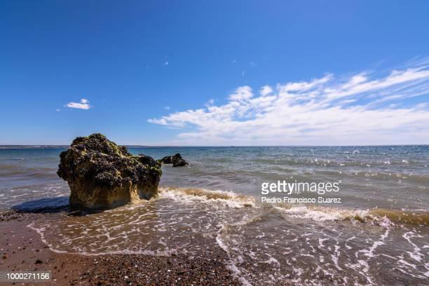 beach postcard - suarez stock pictures, royalty-free photos & images