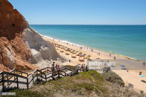 Beach Praia da Falesia, Vilamoura, Algarve, Portugal