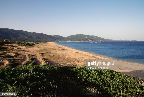 Beach Propriano Corsica France