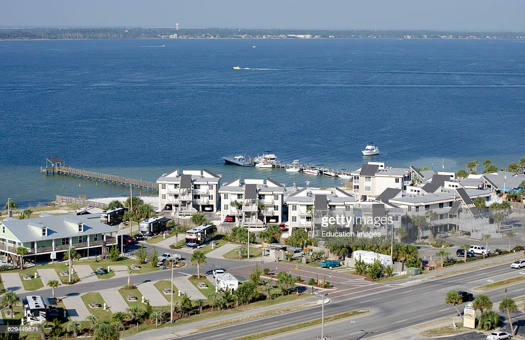 Beach Resort On Santa Rosa Sound Florida Usa