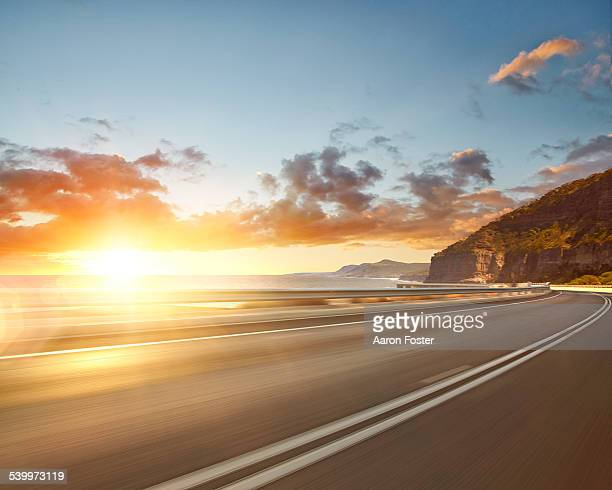 beach road - two lane highway stock pictures, royalty-free photos & images
