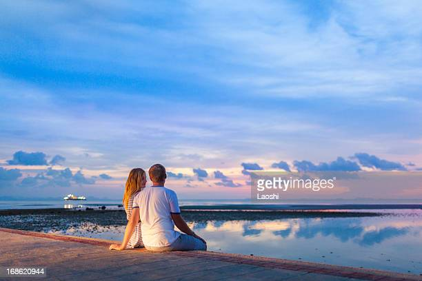 beach romance - ko samui bildbanksfoton och bilder