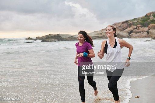 Beach runners