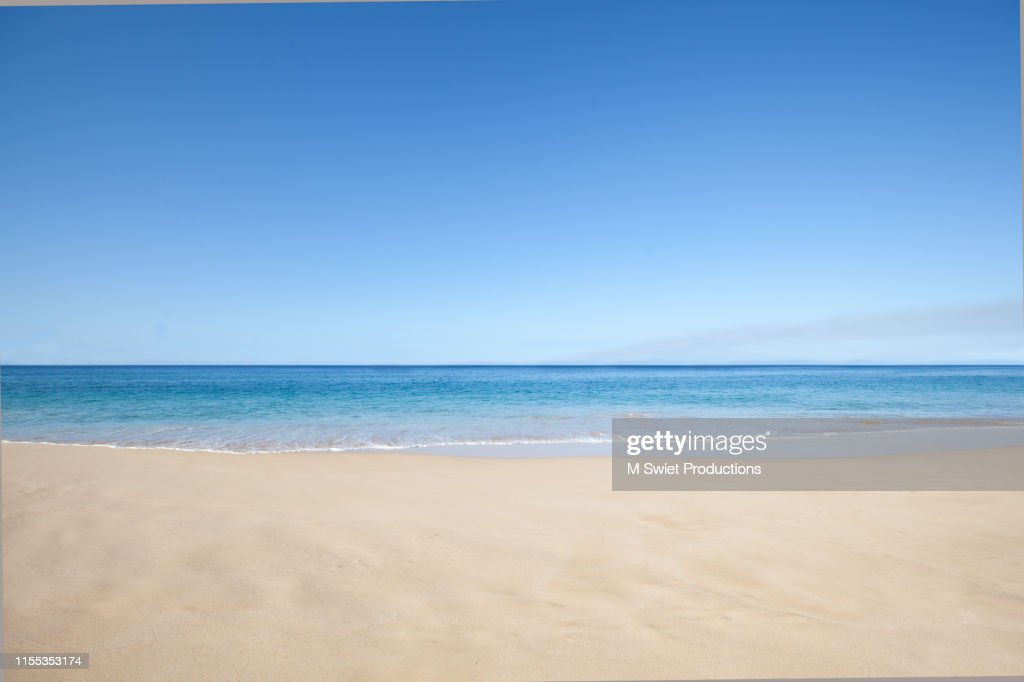 beach sand and sea : Foto stock