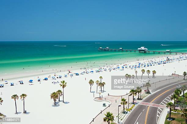 Beach scene, Clearwater, Florida