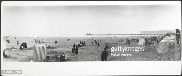 Beach scenes Saltburn by the Sea