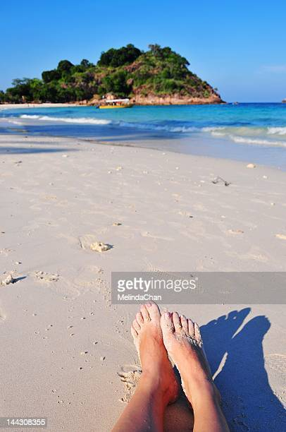 beach site - terengganu stock pictures, royalty-free photos & images